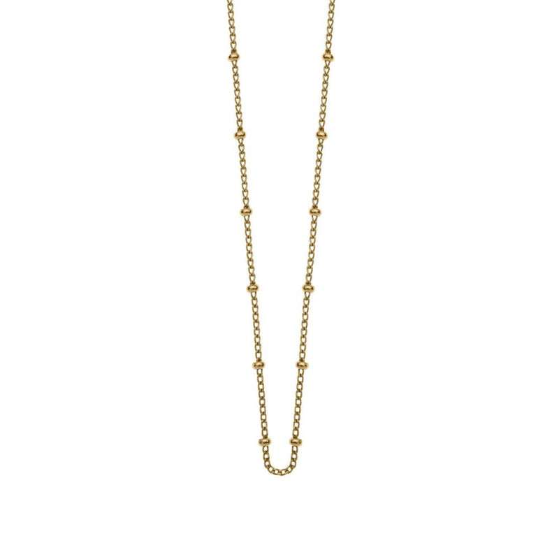 Kirstin Ash Bespoke Ball Chain- 18k yellow gold vermeil