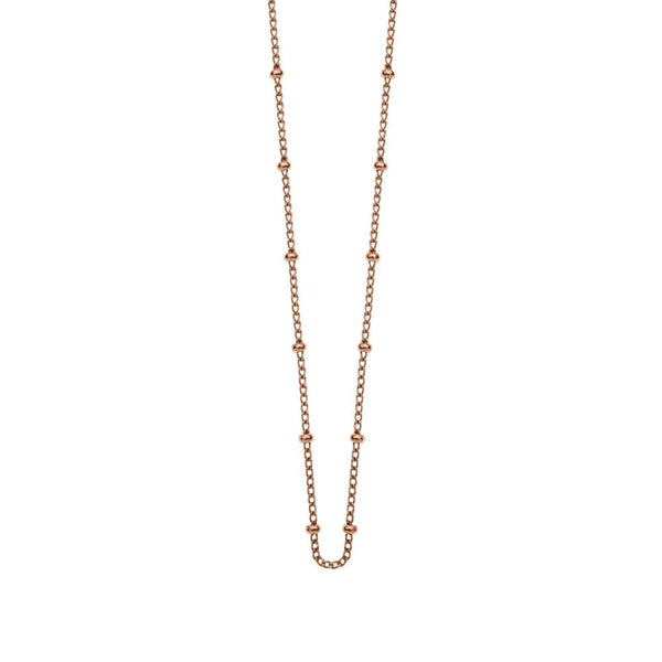 Kirstin Ash Bespoke Ball Chain- 18k rose gold vermeil