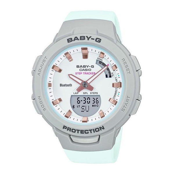 Baby-G Step Tracker- Mint green and Grey