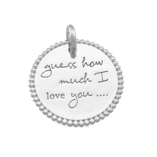 Candid 'Guess How Much I Love You' Pendant