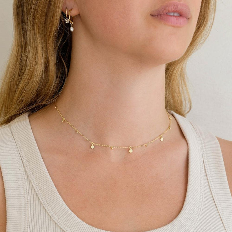 By Charlotte Gold Guiding Light Choker