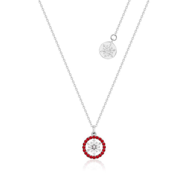 Disney Frozen Snowflake July Birthstone Necklace