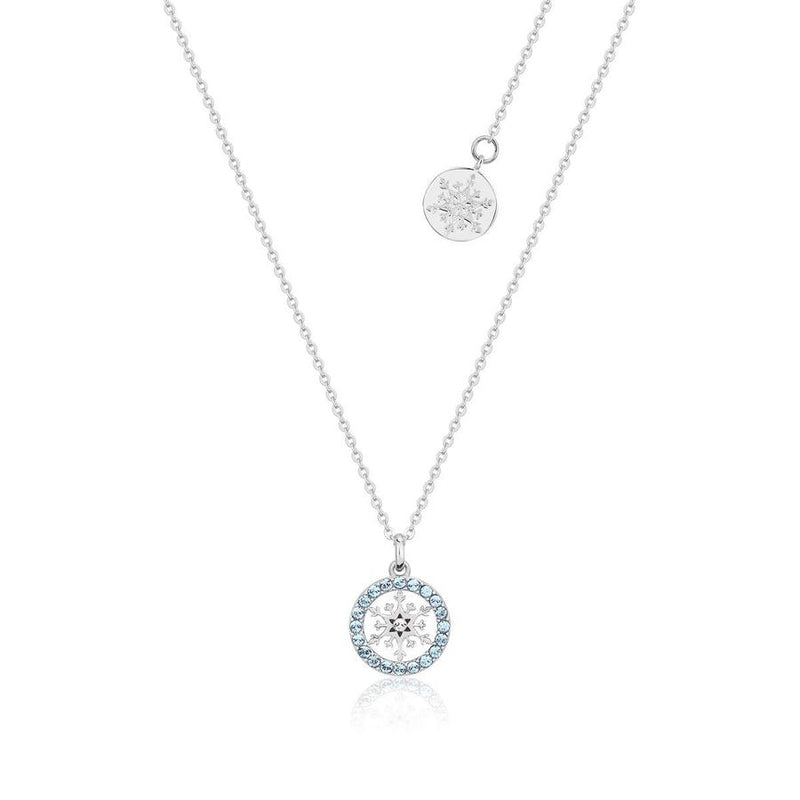 Disney Frozen Snowflake March Birthstone Necklace