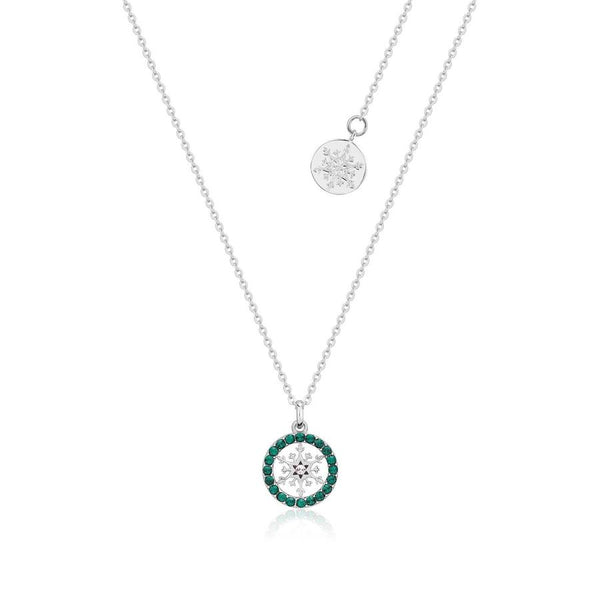 Disney Frozen Snowflake May Birthstone Necklace
