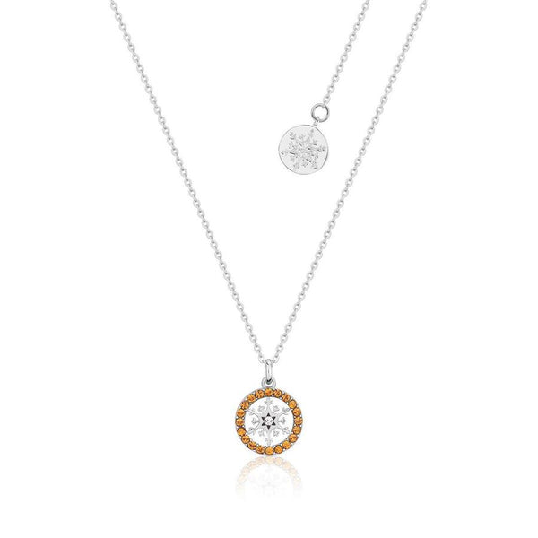 Disney Frozen Snowflake November Birthstone Necklace