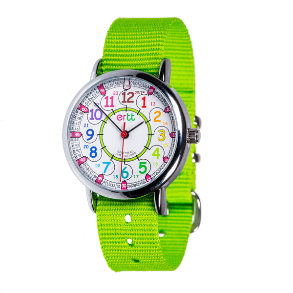 EasyRead Lime and Rainbow Standard Watch