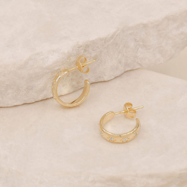 By Charlotte Gold Align Your Soul Hoops