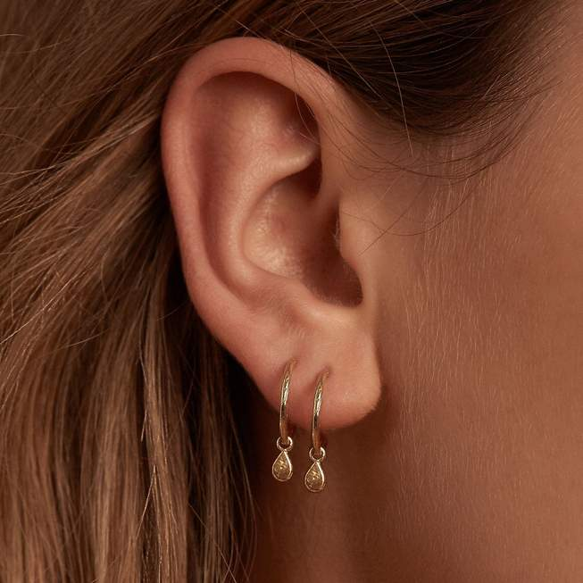 By Charlotte Gold Grace Earrings