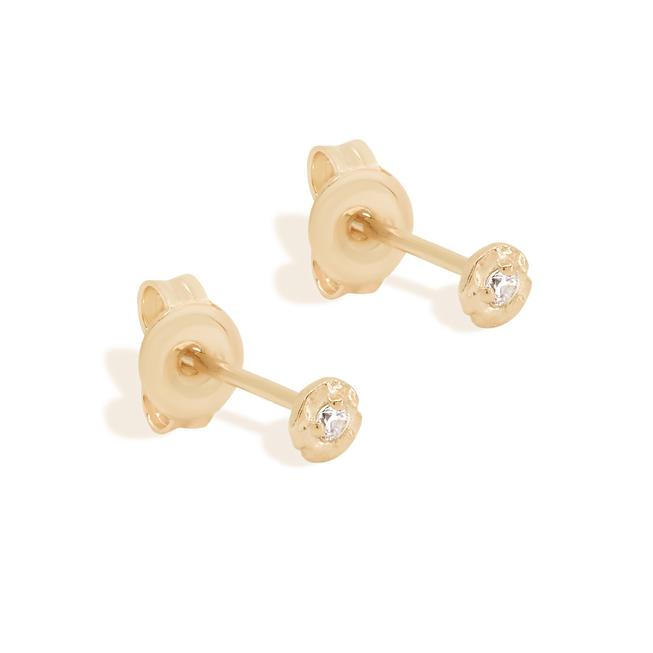 By Charlotte Gold Guiding Light Stud Earrings