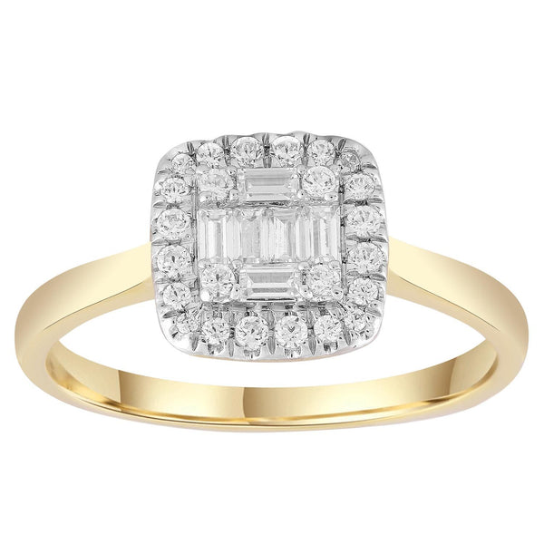 0.25ct Diamond Dress Ring