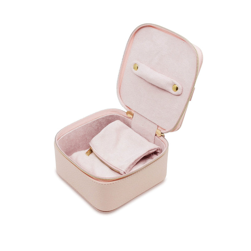 Luxe Jewellery Cube Blush
