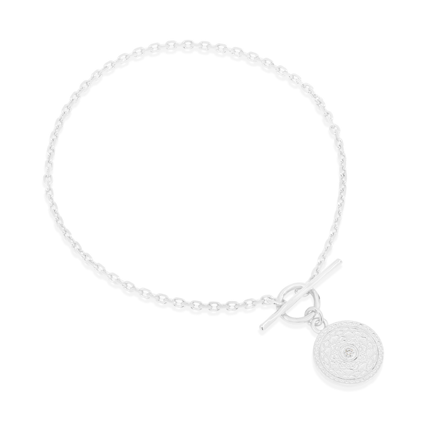 By Charlotte Silver A Thousand Petals Fob Bracelet