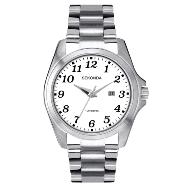 Sekonda Silver Bracelet Band Watch
