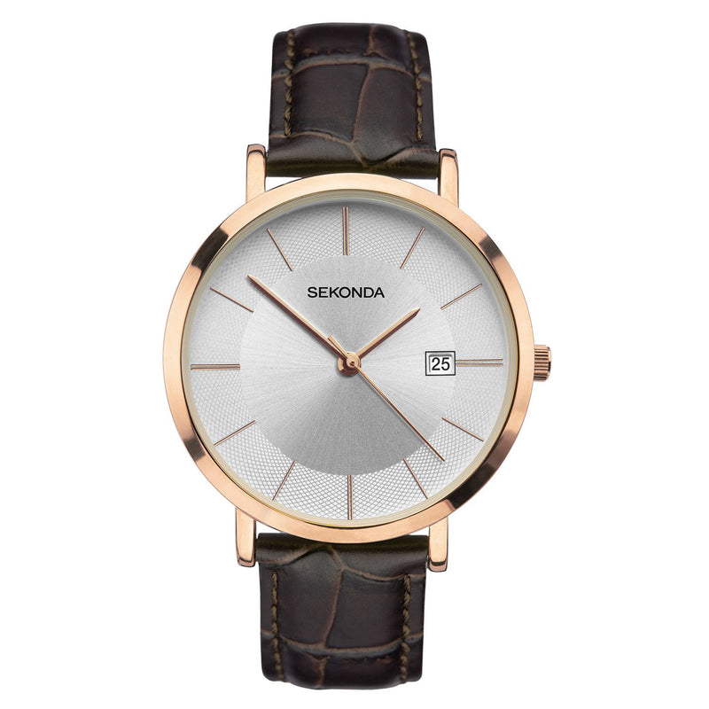 Sekonda Men's Leather Watch