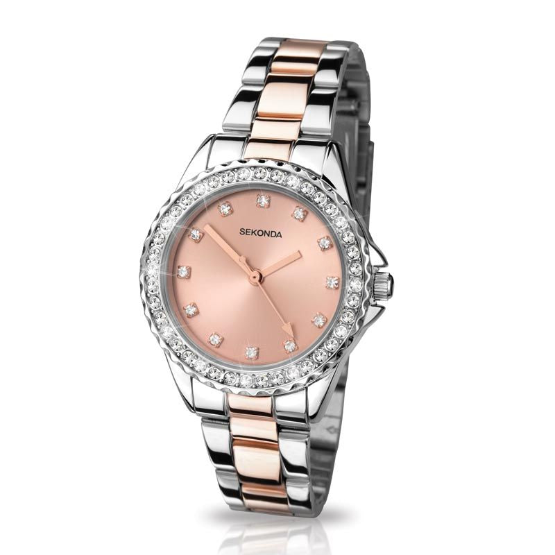 Sekonda Ladies Two Tone Bracelet Watch