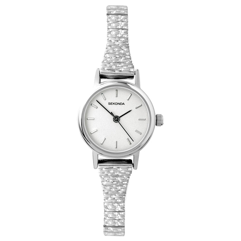 Sekonda Ladies Silver Expandable Watch