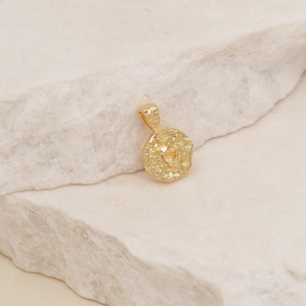 By Charlotte Gold November Birthstone Pendant