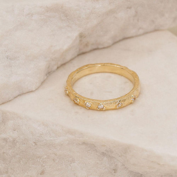 By Charlotte Gold Enlightened Ring