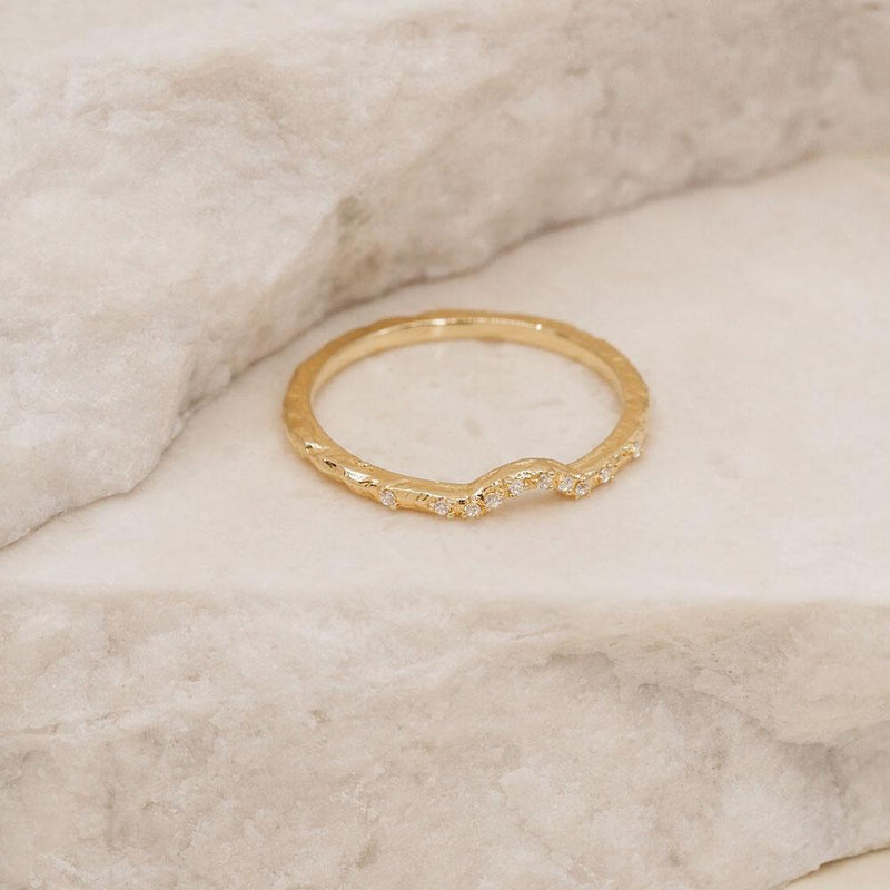 By Charlotte Gold Journey Ring