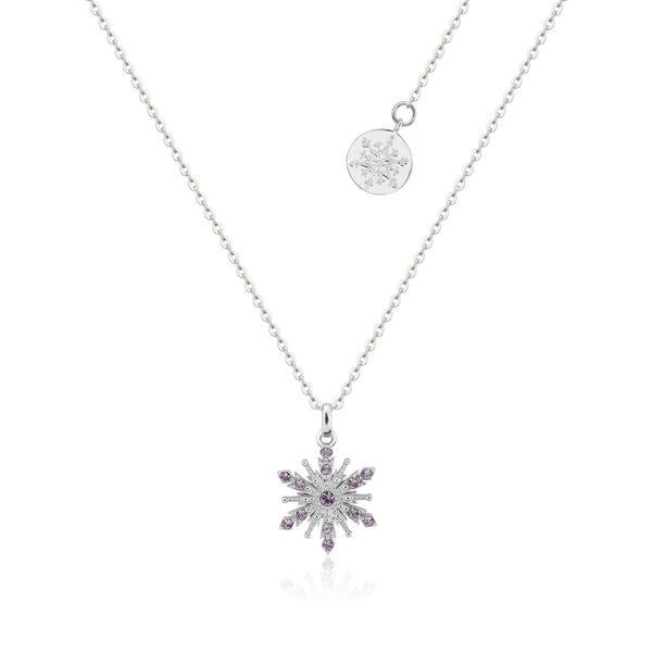 Disney Frozen 2 Anna Crystal Snowflake Necklace