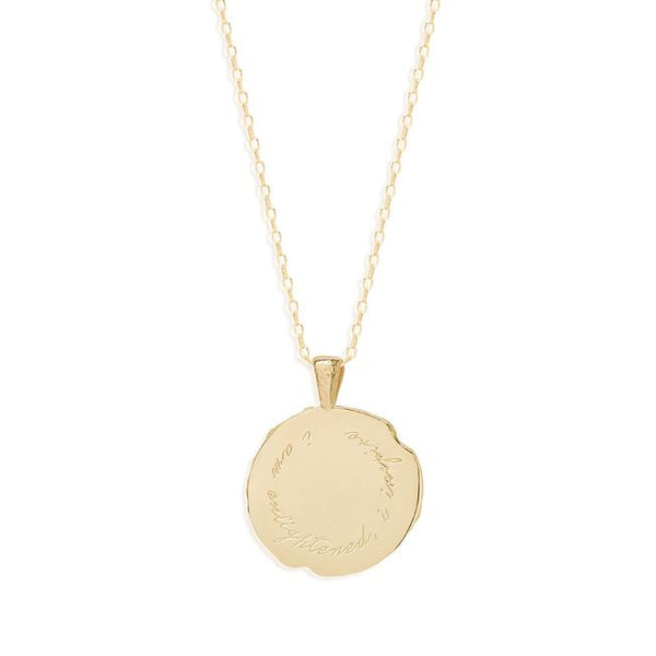 By Charlotte Gold Sagittarius Necklace