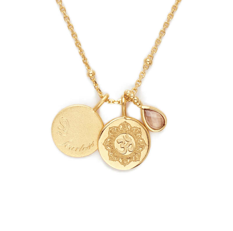 By Charlotte Gold Beyond the Sun Necklace