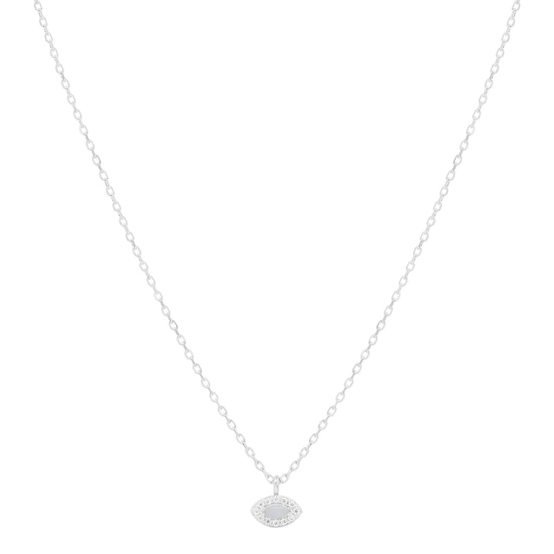 By Charlotte Silver Eye of Protection Necklace