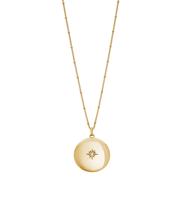 Kirstin Ash Venus Necklace- 18k gold vermeil