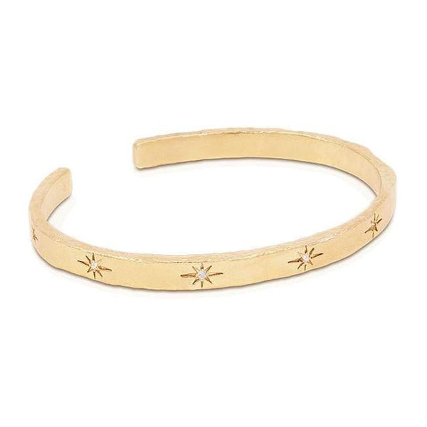 By Charlotte Gold Stardust Cuff