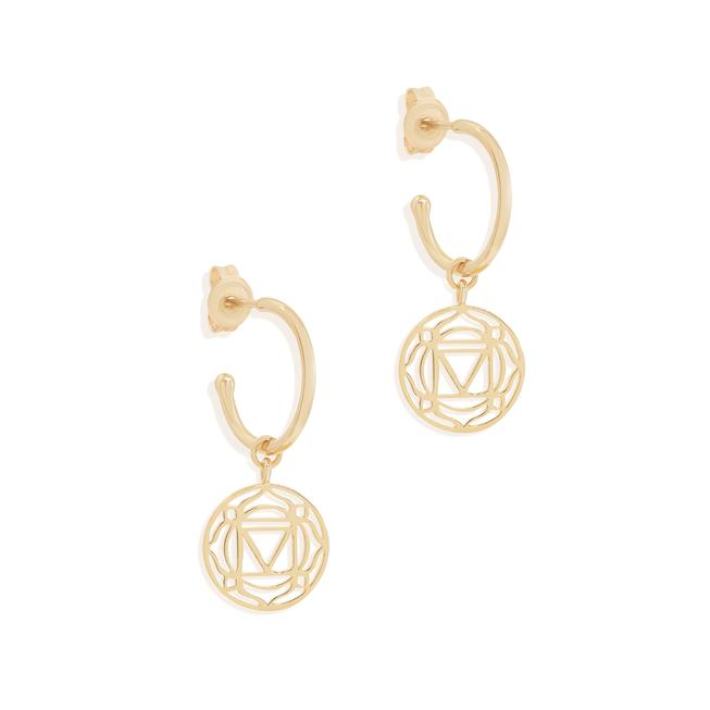 By Charlotte Gold I Am Present, Root Chakra Hoops