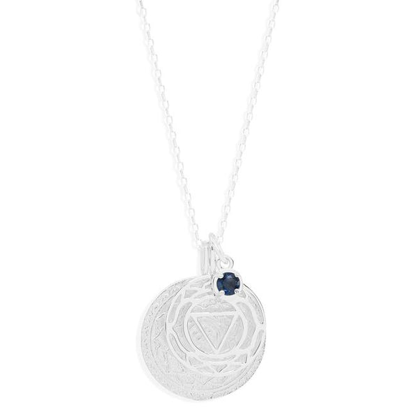 By Charlotte Silver I Create My Reality, Third Eye Chakra Necklace