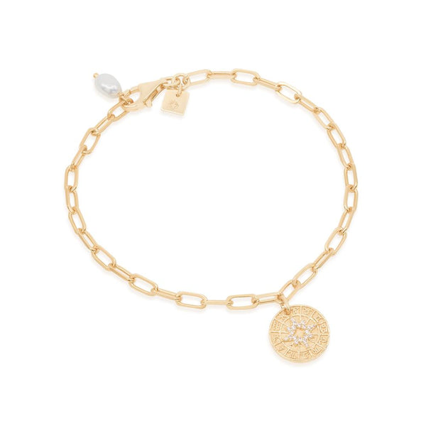 By Charlotte Gold Written in the Stars Bracelet