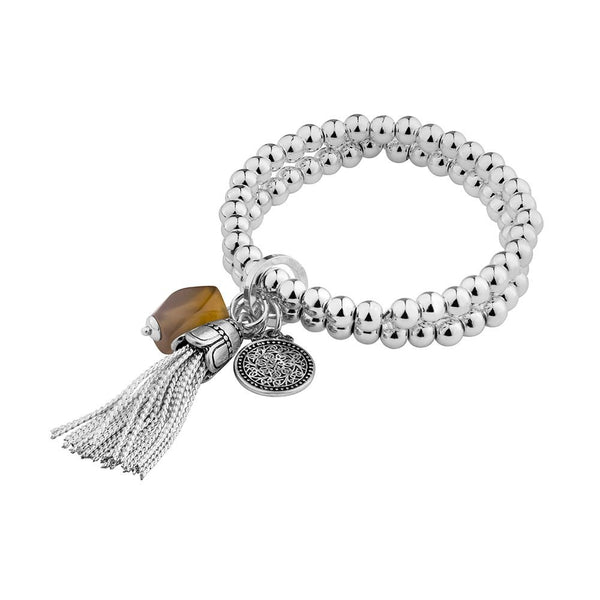 Stainless Steel Fashion Bracelet with pendants