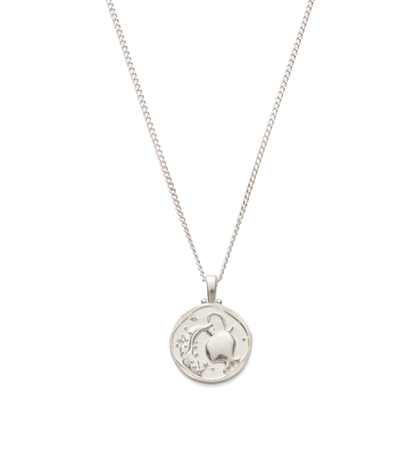 Kirstin Ash Aquarius Zodiac Necklace- Sterling Silver