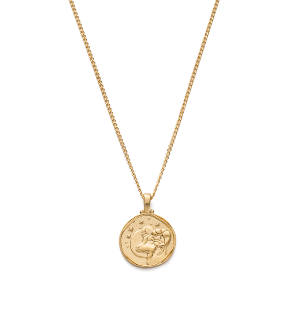 Kirstin Ash Aries Zodiac Necklace- 18k gold vermeil