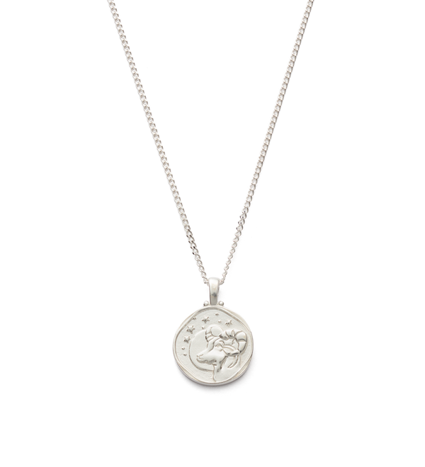 Kirstin Ash Aries Zodiac Necklace- Sterling Silver
