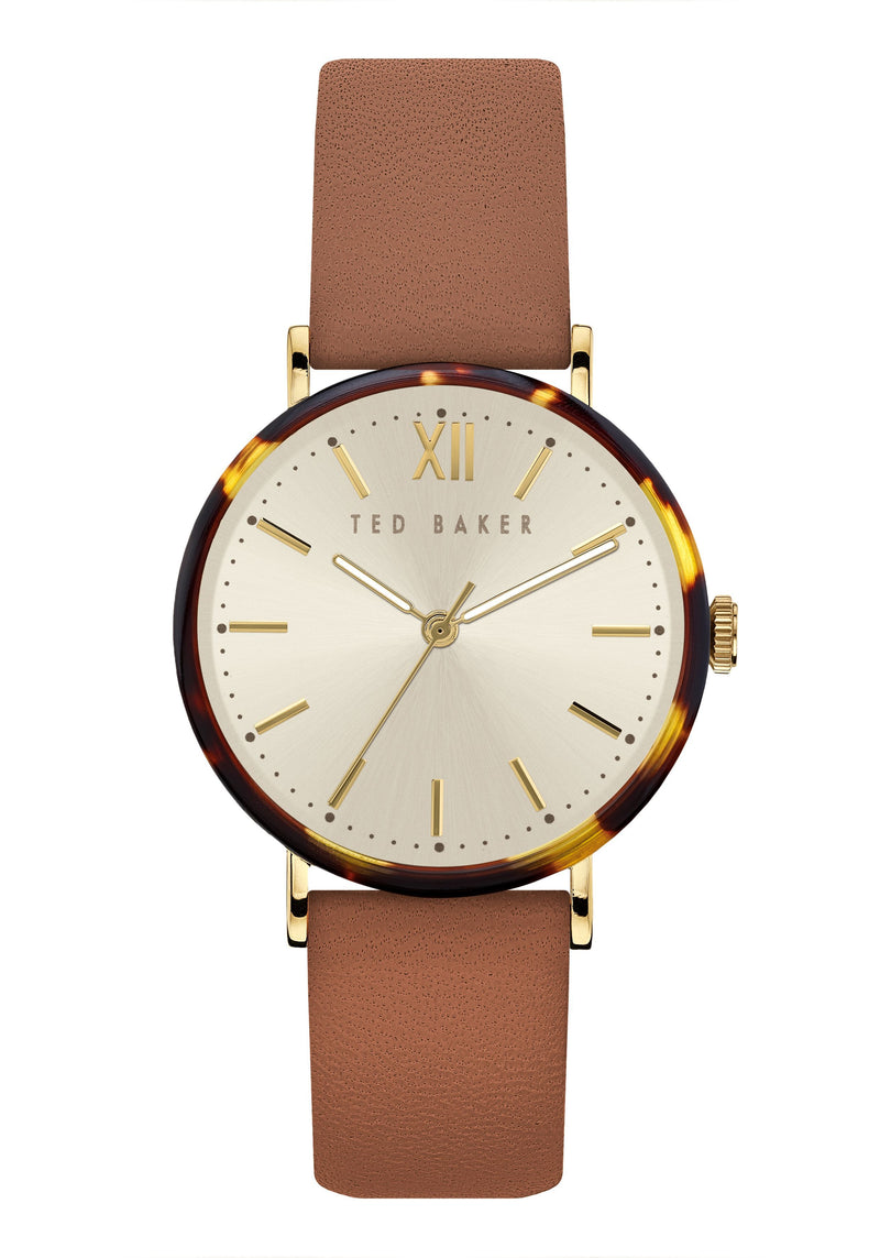 Ted Baker PHYLIPA leather watch