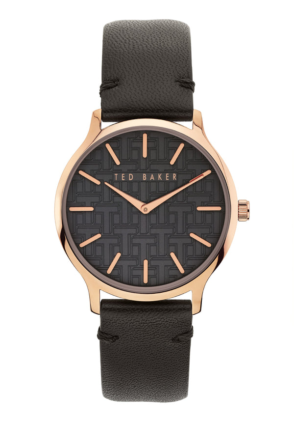 Ted Baker POPPIEY leather strap watch