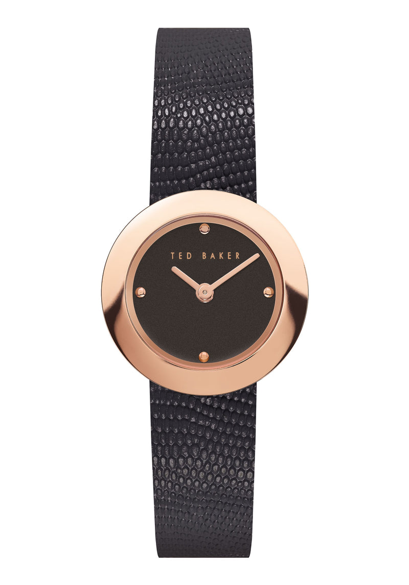 Ted Baker SEERENA lizard print leather strap
