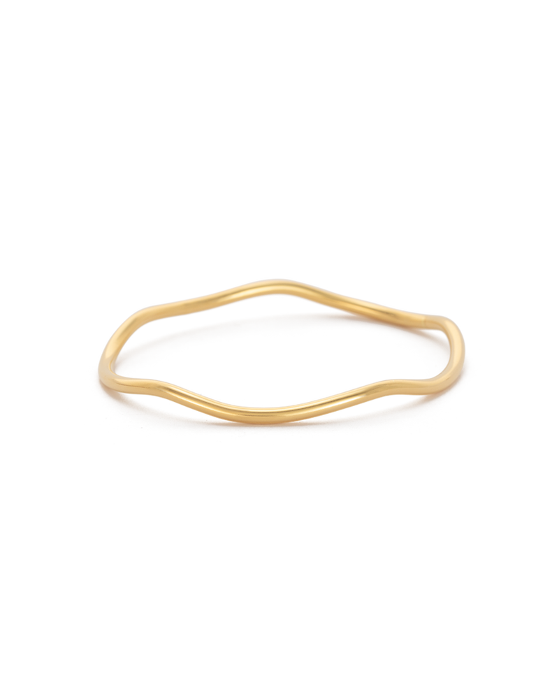 Kirstin Ash Botanica Bangle- 18k gold vermeil
