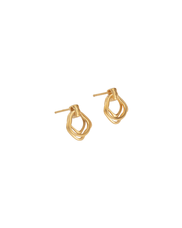 Kirstin Ash Botanica Earrings- 18k gold vermeil