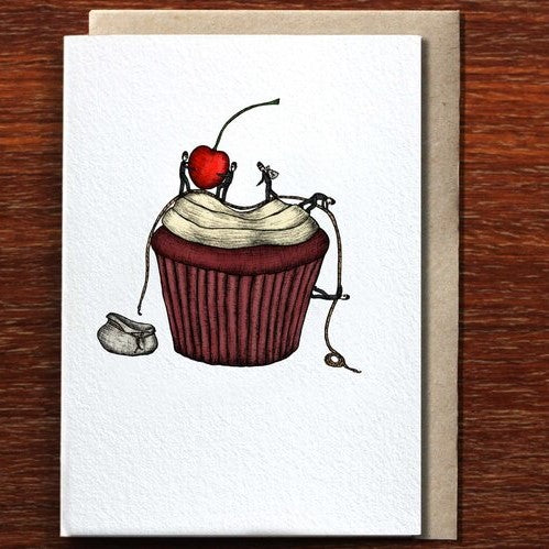 The Nonsense Maker Cupcake Burglars - Greeting Card