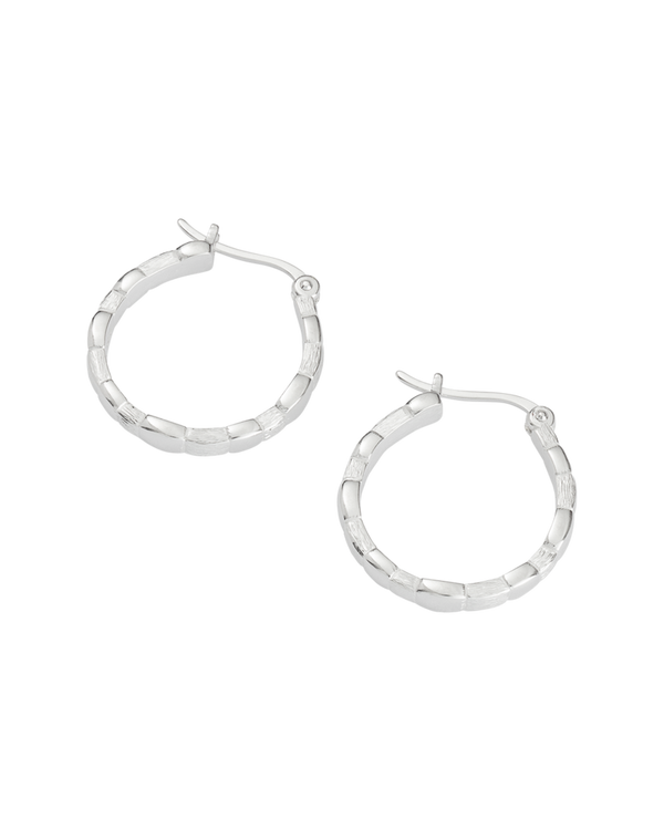 Kirstin Ash Cascade Hoops- Sterling Silver