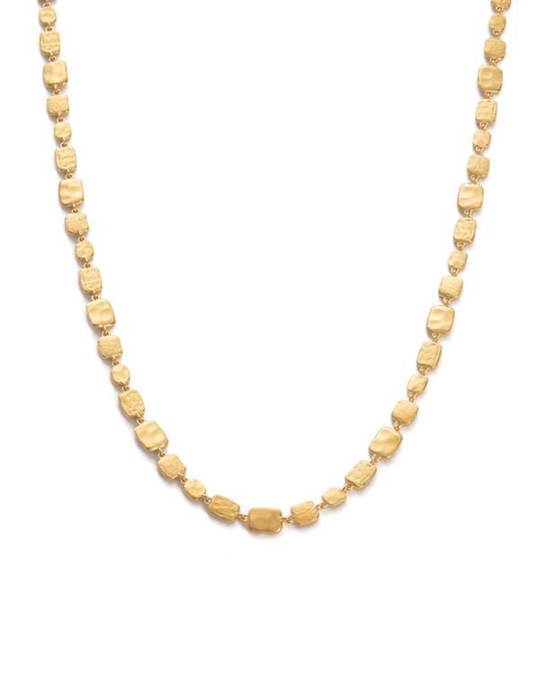 Kirstin Ash Cascade Necklace- 18k gold vemeil