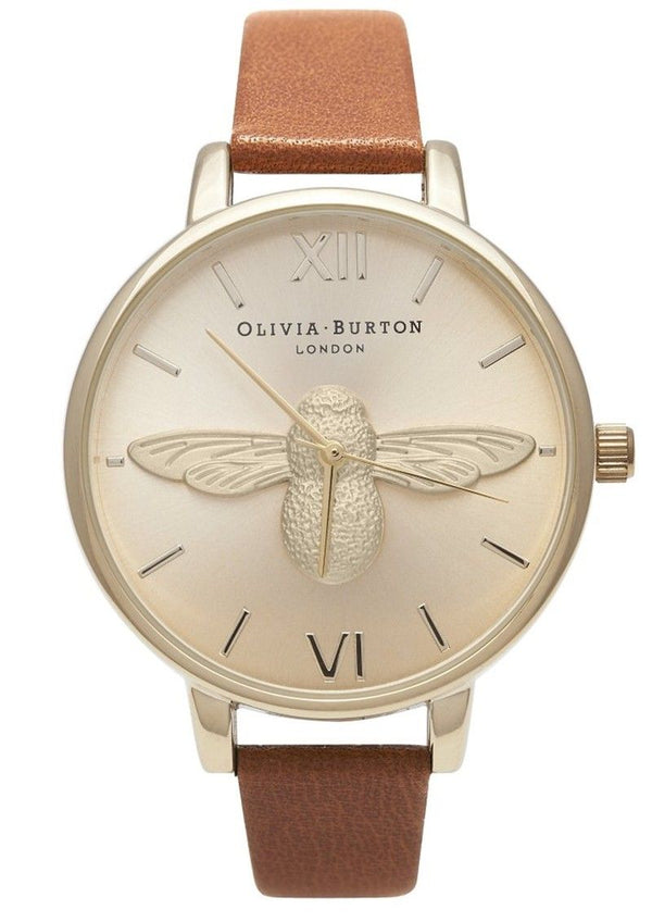 Olivia Burton Animal Motif Moulded Bee Watch