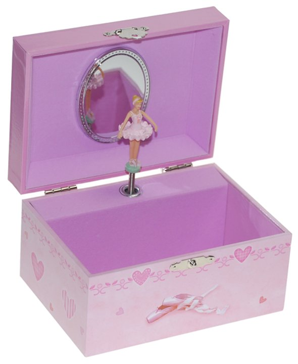 Rectangle Ballerina Musical Box