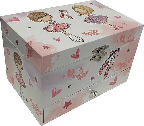 Ballet Large Musical Jewellery Box