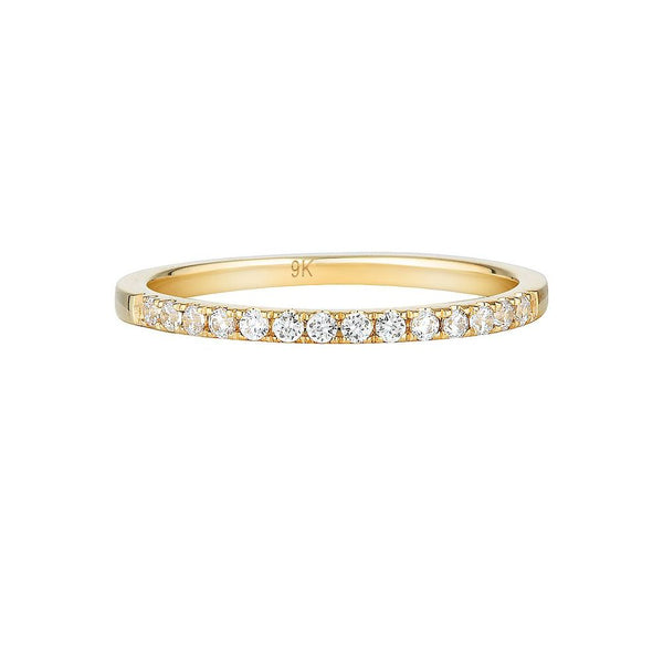 Georgini Gold Round Brilliant Cut band