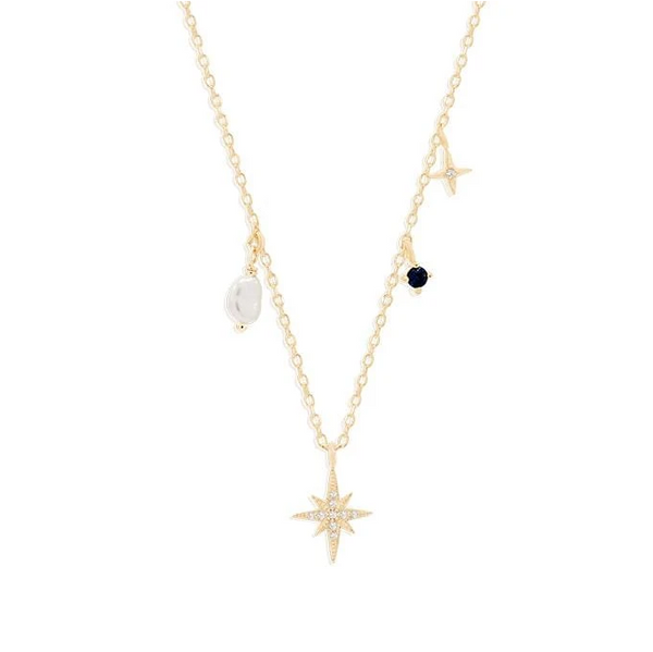By Charlotte Gold Stardust Choker