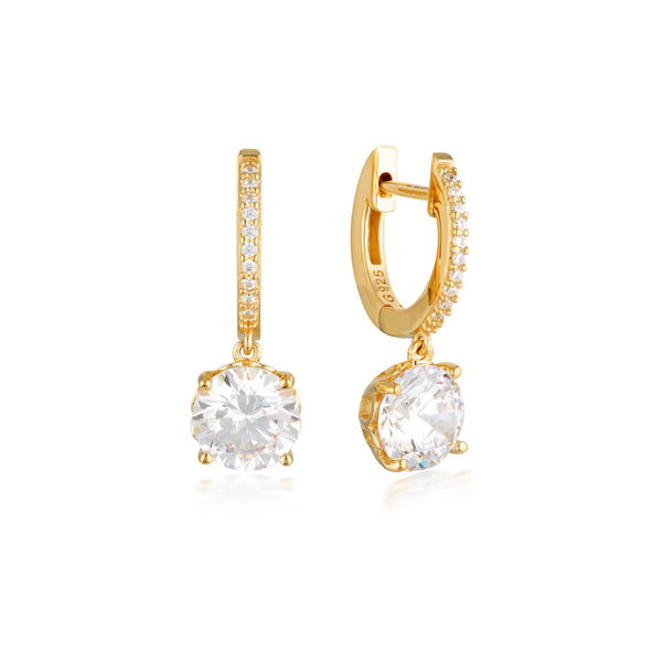 Georgini Luxe Regale Earrings Gold